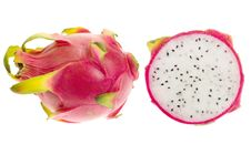 Free Isolated Pitaya Royalty Free Stock Image - 4895646