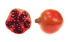 Free Isolated Pomegranate Royalty Free Stock Photography - 4895697