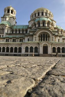 Free Alexander Nevsky Cathedral Royalty Free Stock Image - 4895716