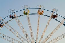Free Ferris Wheel Royalty Free Stock Image - 4897326