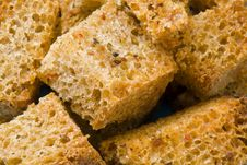 Free Slices Of The Roasted Bread Stock Photo - 4897440