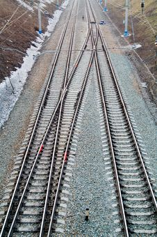 Free Railroad Royalty Free Stock Images - 4897459
