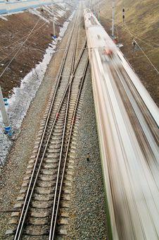 Free Runaway Train Stock Photography - 4897472