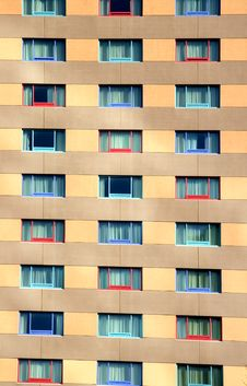 Colored Windows Royalty Free Stock Photography
