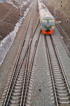 Free Running Train Stock Photos - 4897543