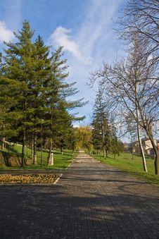 Free Park In The Tuzla City Stock Photos - 4897583