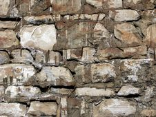 Free Rough Stone Wall Texture 3 Stock Photography - 4898642
