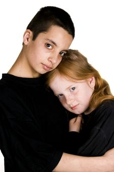 Free Brother And Sister Royalty Free Stock Images - 4899329
