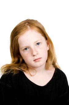 Free Sad Little Girl Stock Photos - 4899433