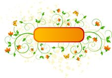 Free Floral   Vector Design Royalty Free Stock Image - 4899446