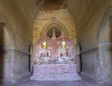 Free Myanmar Bagan;  Buddha Statue Stock Photography - 4899472