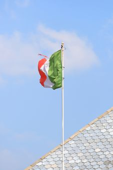 Free Italian Flag Royalty Free Stock Photography - 4899907