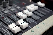 Free Faders Stock Photo - 4899910