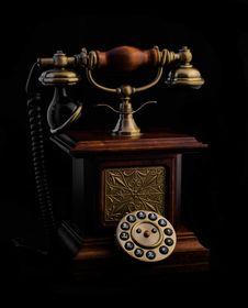 Free Retro Phone Royalty Free Stock Images - 48902249