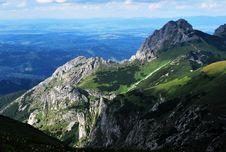 Free Giewont - Tatras Mountains Royalty Free Stock Photo - 48935125
