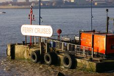 Free Ferry Cross The Mersey 01 Royalty Free Stock Photo - 490385
