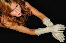 Long Sleeved Gloves2 Stock Photos