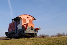 Free Old Diesel Locomotive Stock Photography - 491912