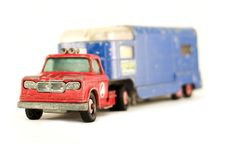 Free Truck For Horses Stock Photography - 491932