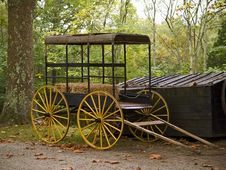 Free Old Cart Royalty Free Stock Photos - 492208