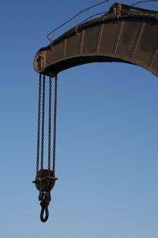 Free Old Crane Royalty Free Stock Image - 492306