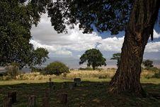 Africa Landscape 014 Ngorongoro Stock Photo