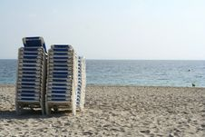 Free Sunbeds Stock Photography - 493652