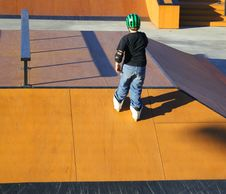 Free Skate Kids Stock Image - 493841
