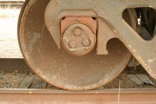 Free Iron Wheel Royalty Free Stock Photography - 495777