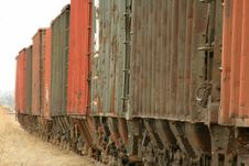 Free Freight Cars Stock Photo - 495780