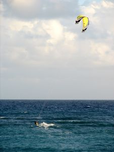 Free Kite Surfer Stock Photo - 496500