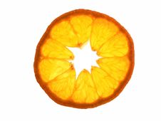 Free Tangerine Slice Royalty Free Stock Photo - 497085