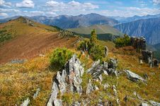 Free Yellow Mountains Landscape Stock Images - 498424