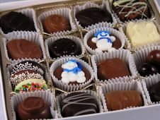Free Box Of Chocolates Stock Photos - 499813