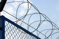 Free Fence With Barbed Wire Close-up Royalty Free Stock Photo - 4903185