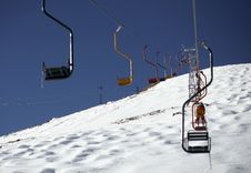 Free Winter Resort And Chair Lift Stock Images - 4900014