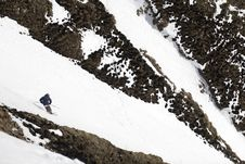 Free Ski Freeride In High Mountains Royalty Free Stock Images - 4900759
