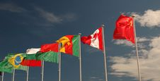 Free Flag 03 Royalty Free Stock Photos - 4901018