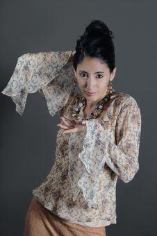 Free Retro Fashion Woman Stock Images - 4901054
