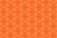Abstract Orange Pattern Stock Photo
