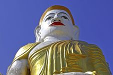 Free Myanmar, Inle Lake: Buddha Sculpture Royalty Free Stock Photos - 4901678