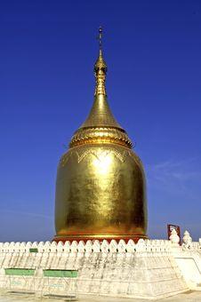 Free Myanmar, Bagan: Golden Shrine Royalty Free Stock Image - 4901906