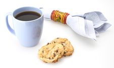 Free Cookies And Coffee Royalty Free Stock Photos - 4902158
