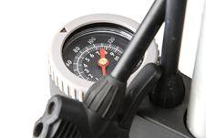 Free Bicycle Pump Gauge Stock Image - 4902161