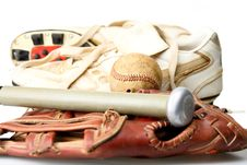Free Baseball Glove And Ball Royalty Free Stock Photos - 4902168
