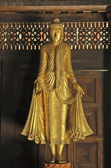 Free Myanmar, Salay: Statue In  Salay Monastery Stock Photos - 4902213