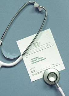 Free Stethoscope With Prescription Stock Images - 4902654