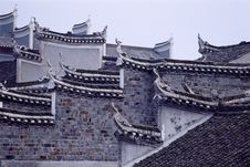 Free Traditional Chinese Building Royalty Free Stock Photography - 4902847