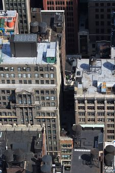 Free Manhattan Skyline Royalty Free Stock Photos - 4903018