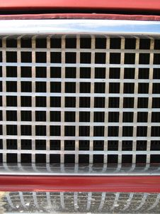 Car Front Grill Stock Photography
